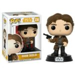 StarWars collection : Figurine Star Wars Solo -  Han Solo Pop 10cm