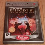 JEU PS2 PLAYSTATION 2 - STAR WARS REVANCHE - Occasion StarWars