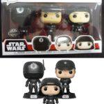 Figurine StarWars : Figurine Funko Pop Vinyl Star Wars - 03 Pack Gunner, Officer & Trooper Exclusive