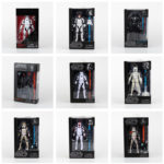 StarWars collection : Star Wars Darth Vader soldats blancs Darth Maul Action Figure jouets