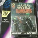Figurine StarWars : Figurines Star Wars Shadows Of The Empire Darth Vader & Prince Xizor 1996 Kenner