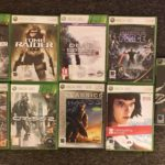 9 Jeux XBox 360 Tomb Raider / Dead Space / - Occasion StarWars