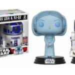 StarWars figurine : Figurine FUNKO POP - Movie - Star Wars - Princess Leia & R2-D2 SDCC 2017 - Boîte