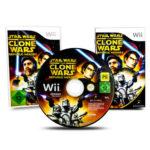 Nintendo Wii Spiel STAR WARS THE CLONE WARS - jeu StarWars