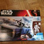 Figurine StarWars : Star Wars The Force Awakens First Order Snowspeeder + Snowtrooper Officer Figure