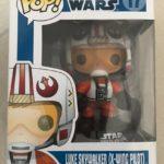 Figurine StarWars : Star Wars POP! Vinyl Bobble Head Luke Skywalker X-Wing Pilot figurine Funko n°17