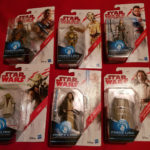 StarWars collection : Star Wars figurine last jedi c-3po chewbacca rey yoda obi-wan kenobi luke skywal