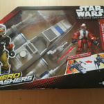StarWars collection : Pack figurine et véhicule Star Wars The Force Awakens - Hero Mashers