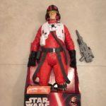 StarWars figurine : FIGURINE STAR WARS PILOTE POE DAMERON 45 cm EPISODE VII de 2015 JAKKS PACIFIC