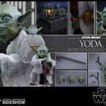StarWars collection : Star Wars Figurine YODA Jedi 13 cm SideShow sur la Planète Dagobah