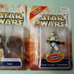 StarWars figurine : BRAND NEW STAR WARS SAGA CLONE WARS * YODA CLONE TROOPER COMMANDER * 2003 NEUF