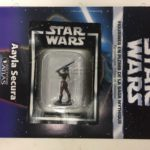 StarWars collection : star wars figurine en plomb aayla secura n39/60 neuve blister fascicule atlas