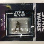 StarWars figurine : star wars figurine en plomb mace windu n33/60 neuve blister fascicule atlas