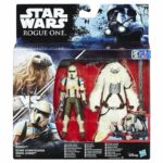 StarWars collection : Star Wars Rogue One Moroff & Scarif Stormtrooper Pack 2 Figurines 10 cm - Hasbro