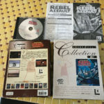 jeu de pc vintage(1993) windows 95!!! rebel - pas cher StarWars