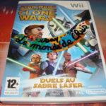 jeu wii/u star wars the clone wars duels au - Bonne affaire StarWars