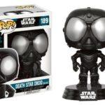 Figurine StarWars : Figurine  FUNKO POP - Star Wars - Rogue One - DEATH STAR DROID - Boîte