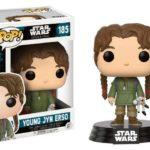 StarWars figurine : Figurine FUNKO POP - Movie - Star Wars - Rogue One - YOUNG JYN ERSO - Boît