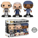 StarWars collection : FIGURINES FUNKO POP! STAR WARS - LOBOT, UGNAUGHT & BESPIN GUARD ( EXCLUSIVE )