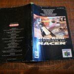 Notice Manuel Nintendo 64 Star Wars Racer n64 - pas cher StarWars
