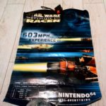 Nintendo 64 N64 Poster Star Wars racer - Avis StarWars