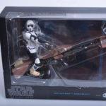 StarWars figurine : STAR WARS BLACK SERIES 6 INCH - BIKER SCOUT & SPEEDER BIKE  2013 HASBRO NEUF
