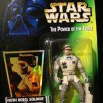StarWars collection : Figurine Star Wars neuve neuf!Le pouvoir de la force!Soldat rebelle Hoth!!!!!!!!
