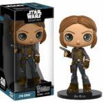StarWars figurine : Figurine Wacky Wobbler Funko - Star Wars Rogue One - JYN ERSO - Neuf - Boîte