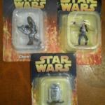 StarWars figurine : LOT 3 FIGURINES EN PLOMB STAR WARS NEUVES ATLAS