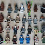 StarWars collection : Lego star wars figurine personnage minifigure, lot à l'unité, modèle au choix