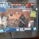 StarWars figurine : Figurine star wars : sith speeder + Darth Maul neuf en boite