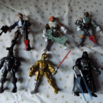 StarWars figurine : Star Wars Collection de 7 figurines STAR WARS et 11 accessoires STAR WARS NEUFS