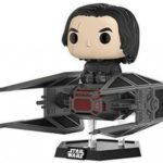 Figurine StarWars : Funko- Star Wars-E8 TLJ-Tie Fighter avec Kylo Ren Figurine, 20154,...