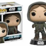 StarWars collection : Figurine Star Wars - Rogue One - Jyn Erso Hooded Exclusive Pop 10cm