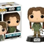 StarWars figurine : Figurine Star Wars - Rogue One - Young Jyn Erso Pop 10cm