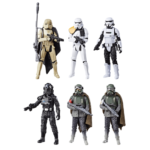 StarWars collection : Star Wars Force Link Trooper 6-Pack 3.75 (SANS EMBALLAGE) Loose
