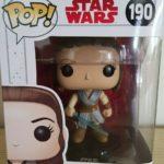 StarWars collection : Figurine Funko Pop Star Wars Episode VIII The Last Jedi Rey N° 190