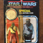 Figurine StarWars : STAR WARS THE POWER OF THE FORCE FIGURINE BARADA BLISTER COLLECTOR COIN 1984