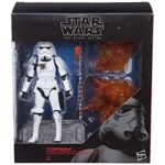"StarWars collection : Star Wars Black Series 6"" 2018 Stormtrooper with blast accessories figure 15 cm"