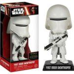 Figurine StarWars : Figurine Star Wars Episode 7 - Wacky Wobbler First Order Snowtrooper