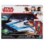 Figurine StarWars : Star Wars Force Lien 2.0 Résistance A-Wing de Combat Hasbro Figurine Jeu Set
