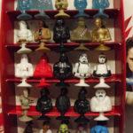 Figurine StarWars : STAR WARS Coffret Leclerc  Faucon millénium + 25 figurines complet Micro Popz