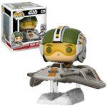 Figurine StarWars : Figurine Star Wars - Wedge Antilles With Snow Speeder Exclusive Pop 15cm