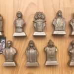 StarWars figurine : Star Wars episode1 Figurines série complete 9 Kellogg's, Lucasfilm, Logistix