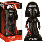 Figurine StarWars : Figurine Wacky Wobbler Kylo Ren Bobble Head - Star Wars VII - Funko