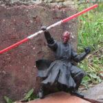 Figurine StarWars : FIGURINE ARTICULEE  HASBRO 2001 / STAR WARS ~ DARTH MAUL