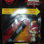 Figurine StarWars : STAR WARS HASBRO 1999 EPISODE 1 . DELUXE . OBI-WAN KENOBI .NEUF SOUS BLISTER n°2