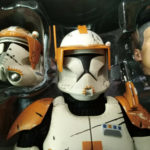StarWars collection :  Star wars Clone Commander Cody 212th Btl Sideshow Hot Toys 1/6 30cm 12inch TBE