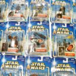 Figurine StarWars : Star Wars Saga 2002 (Bleu) Emballé Figurines - Moc - Regardez les Photos! (B)