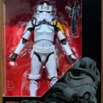 "Figurine StarWars : Hasbro Star Wars The Black Series 6"" Imperial Jumptrooper Action Figure in stock"